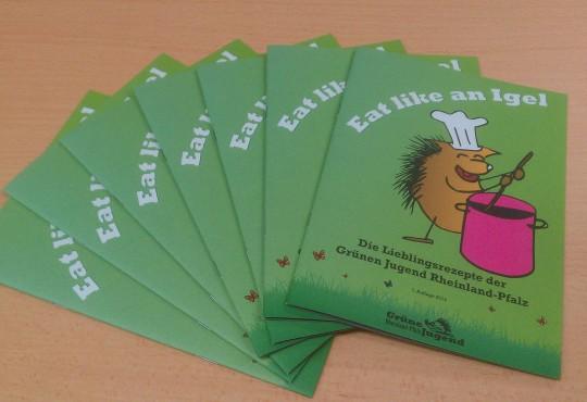 Eat like an Igel - Das neue Kochbuch der GJ RLP ist da...