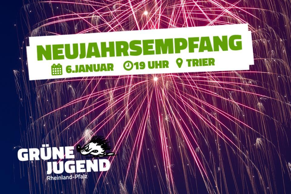Einladung: Neujahrsempfang GJ RLP 08.01.18, 19 Uhr, Trier