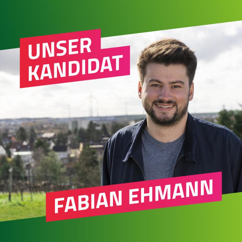 Unser Kandidat Fabian Ehmamm